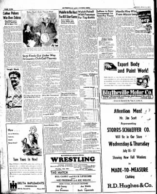 The Courier News from Blytheville, Arkansas on July 14, 1947 · Page 4