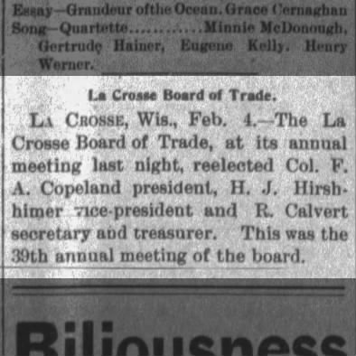 1897 Board of Trade Leaders Elected