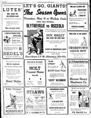 The Courier News from Blytheville, Arkansas on May 5, 1937 · Page 4