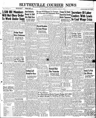 The Courier News from Blytheville, Arkansas on March 30, 1946 · Page 1
