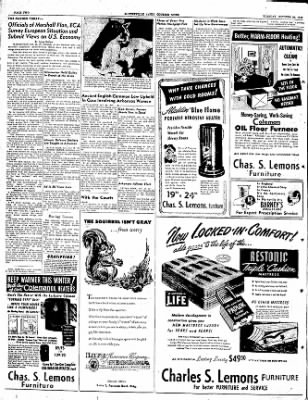 The Courier News from Blytheville, Arkansas on October 25, 1949 · Page 2
