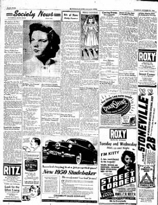 The Courier News from Blytheville, Arkansas on October 25, 1949 · Page 4