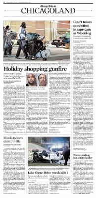Chicago Tribune from Chicago, Illinois on November 30, 2013 · Page 1-4
