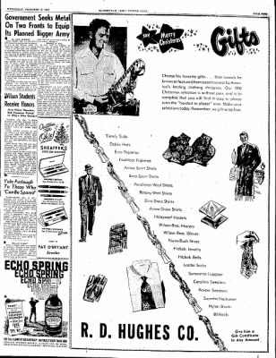 The Courier News from Blytheville, Arkansas on December 13, 1950 · Page 9