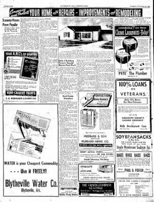 The Courier News from Blytheville, Arkansas on October 25, 1949 · Page 8