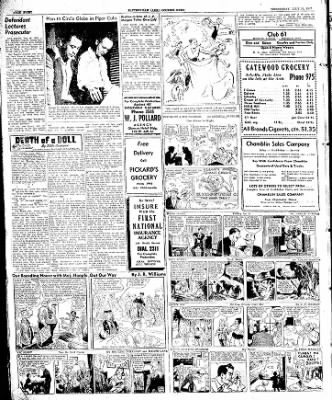 The Courier News from Blytheville, Arkansas on July 16, 1947 · Page 8