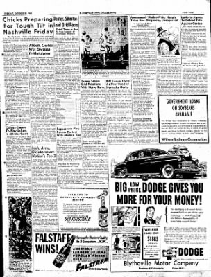 The Courier News from Blytheville, Arkansas on October 25, 1949 · Page 9