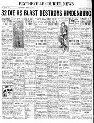 The Courier News from Blytheville, Arkansas on May 7, 1937 · Page 1