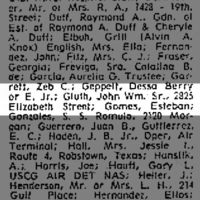 John William Gluth Sr