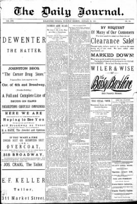 Logansport Pharos-Tribune from Logansport, Indiana on January 29, 1891 · Page 1