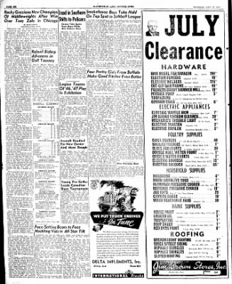 The Courier News from Blytheville, Arkansas on July 17, 1947 · Page 6