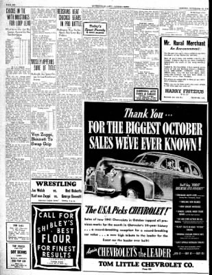 The Courier News from Blytheville, Arkansas on November 18, 1940 · Page 6
