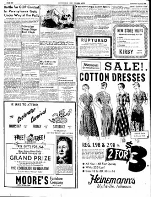 The Courier News from Blytheville, Arkansas on May 16, 1950 · Page 6