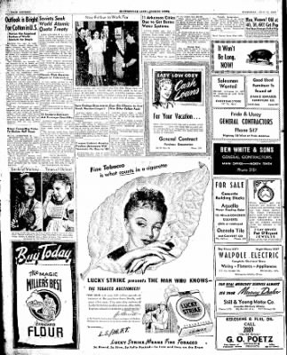 The Courier News from Blytheville, Arkansas on July 17, 1947 · Page 16