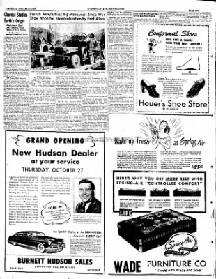 The Courier News from Blytheville, Arkansas on October 27, 1949 · Page 2