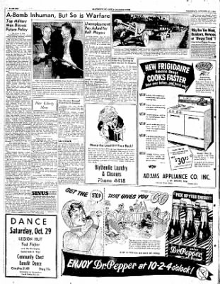 The Courier News from Blytheville, Arkansas on October 27, 1949 · Page 6