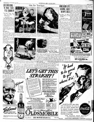 The Courier News from Blytheville, Arkansas on November 20, 1940 · Page 7