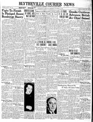The Courier News from Blytheville, Arkansas on November 21, 1940 · Page 1