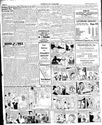 The Courier News from Blytheville, Arkansas on July 19, 1947 · Page 6