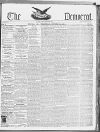 Sample Spirit of the South front page
