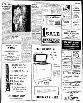 The Courier News from Blytheville, Arkansas on July 21, 1947 · Page 7