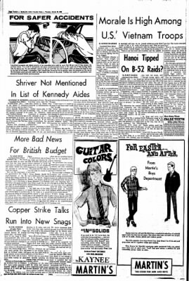 The Courier News from Blytheville, Arkansas on March 19, 1968 · Page 6