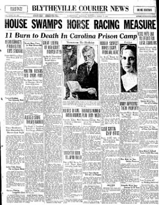 The Courier News from Blytheville, Arkansas on March 7, 1931 · Page 1