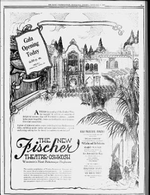 Fischer Theatre opening
