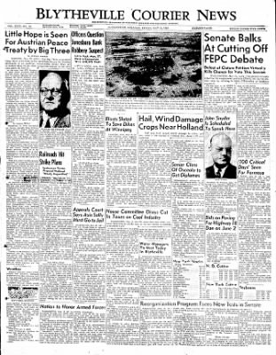 The Courier News from Blytheville, Arkansas on May 19, 1950 · Page 1