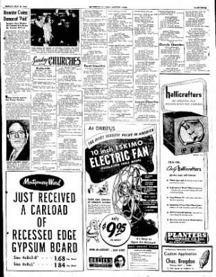 The Courier News from Blytheville, Arkansas on May 19, 1950 · Page 3