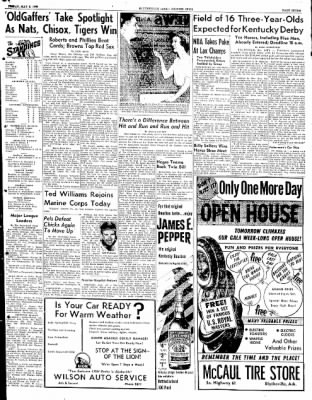 The Courier News from Blytheville, Arkansas on May 2, 1952 · Page 7