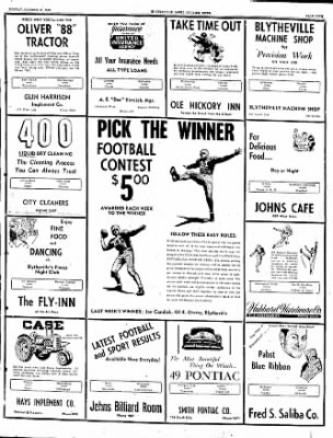 The Courier News from Blytheville, Arkansas on October 31, 1949 · Page 9