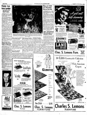 The Courier News from Blytheville, Arkansas on November 1, 1949 · Page 2
