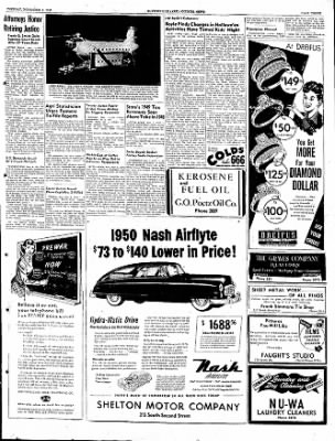 The Courier News from Blytheville, Arkansas on November 1, 1949 · Page 3