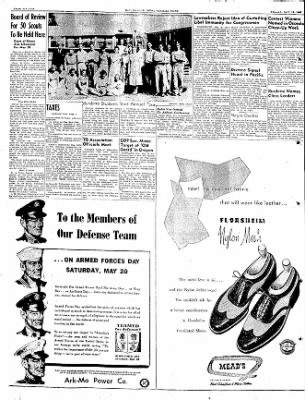 The Courier News from Blytheville, Arkansas on May 19, 1950 · Page 16