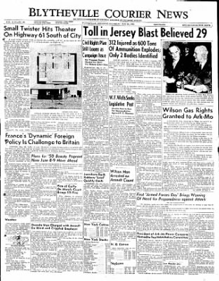 The Courier News from Blytheville, Arkansas on May 20, 1950 · Page 1