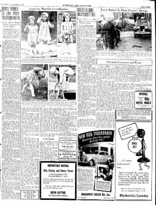 The Courier News from Blytheville, Arkansas on November 6, 1937 · Page 3