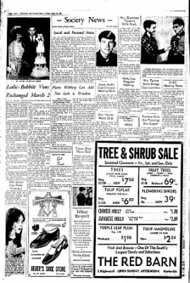 The Courier News from Blytheville, Arkansas on March 29, 1968 · Page 2
