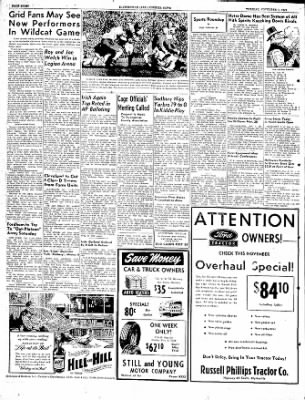 The Courier News from Blytheville, Arkansas on November 1, 1949 · Page 8