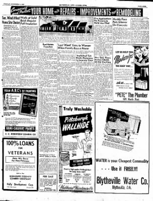 The Courier News from Blytheville, Arkansas on November 1, 1949 · Page 9