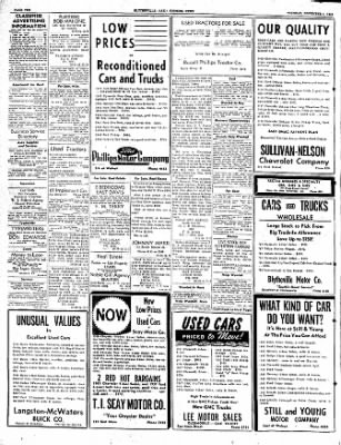 The Courier News from Blytheville, Arkansas on November 1, 1949 · Page 10