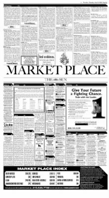 The Baltimore Sun From Baltimore Maryland On July 23 2002 Page B9