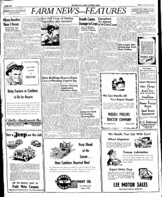 The Courier News from Blytheville, Arkansas on July 25, 1947 · Page 6