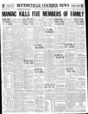 The Courier News from Blytheville, Arkansas on October 17, 1933 · Page 1