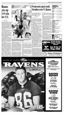 The Baltimore Sun from Baltimore, Maryland on September 26, 2003 · Page D3