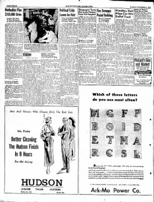The Courier News from Blytheville, Arkansas on November 1, 1949 · Page 12