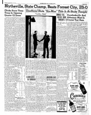 The Courier News from Blytheville, Arkansas on November 29, 1940 · Page 5