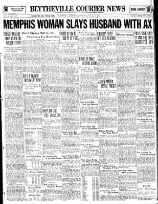 The Courier News from Blytheville, Arkansas on October 18, 1933 · Page 1