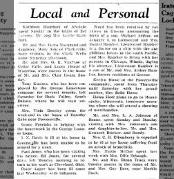 The Greene Recorder from Greene, Iowa on January 10, 1945