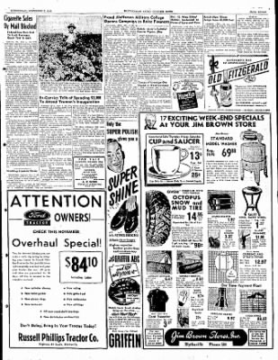 The Courier News from Blytheville, Arkansas on November 2, 1949 · Page 7